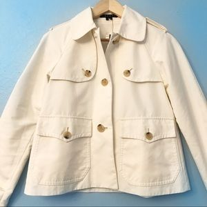 """Theory Crop Trench Coat- """"Oberon"""""""